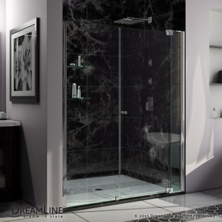 Allure 54 - 67 in. Pivot Shower Door